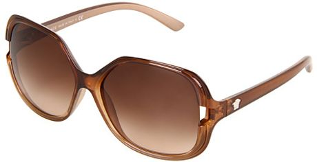 Versace Sunglasses in Brown (b) - Lyst
