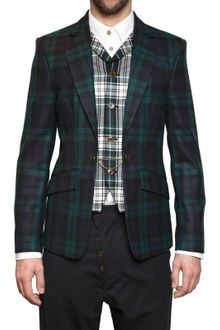 Vivienne Westwood Checked Flannel Chained Vest Jacket - Lyst