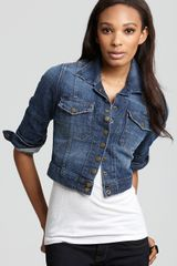 Ash Currentelliott Jacket The Snap Jacket in Loved Wash - Lyst