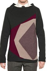 Burberry Prorsum Cashmere Wool Knit Sweater - Lyst