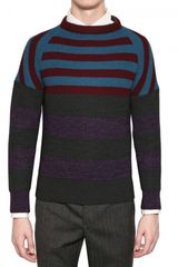 Burberry Prorsum Cashmere Blend Knit Sweater - Lyst