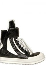 Camilla Skovgaard 20mm Two Tone Printed Leather Sneakers - Lyst