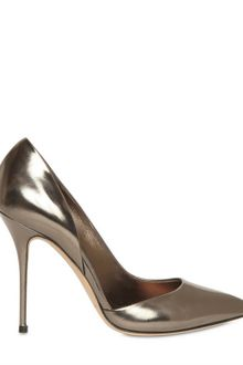 Casadei 110mm Metallic Calf Asymmetric Pumps - Lyst