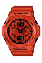 Casio Gshock Dual Movement Watch - Lyst