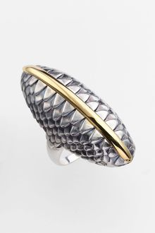 Elizabeth And James Audubon Feather Statement Ring - Lyst