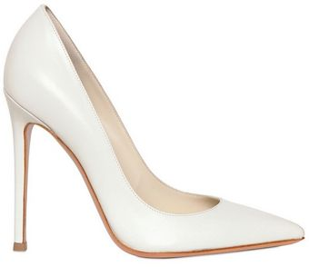 Gianvito Rossi 110mm Shiny Nappa Leather Pointy Pumps - Lyst