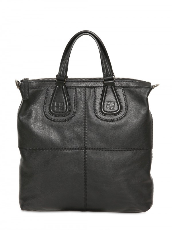 a5c67bc12cb1 Lyst - Givenchy Biker Leather Tote Bag in Black