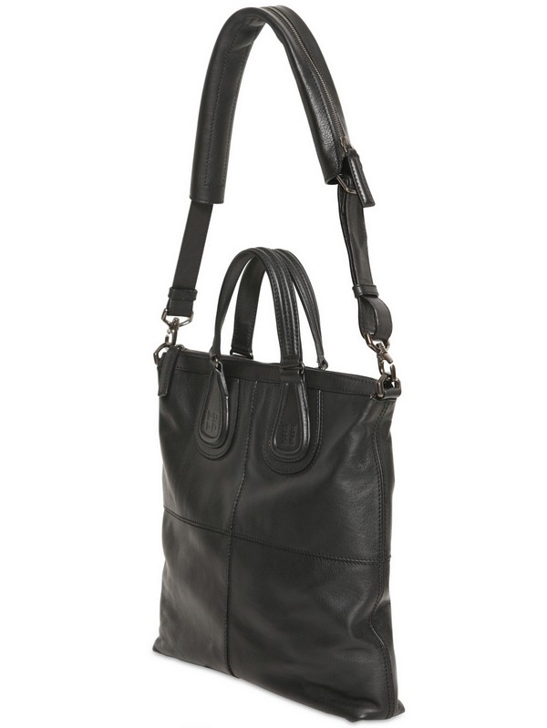 0d6ac8cd82c5 Lyst - Givenchy Biker Leather Tote Bag in Black
