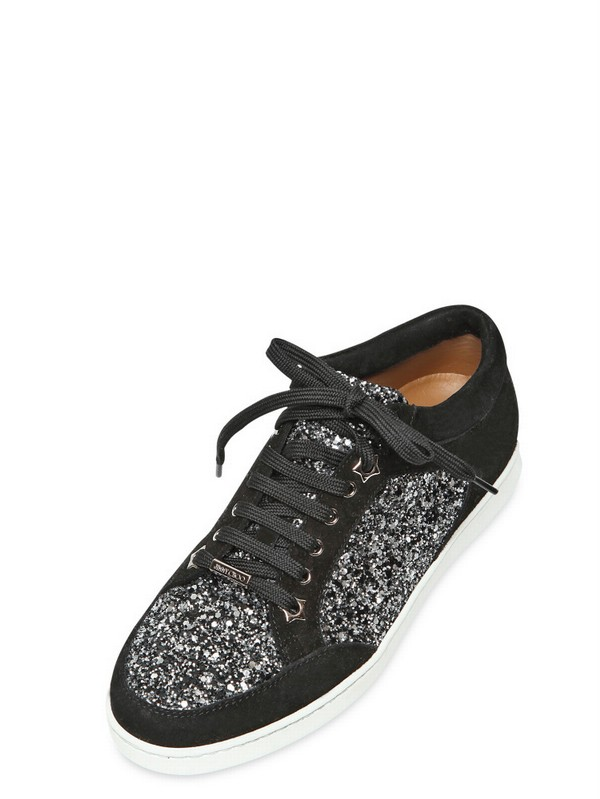 d10ec56379c5 Gallery. Previously sold at: LUISA VIA ROMA · Women's Jimmy Choo Glitter  Shoes Women's Jimmy Choo Miami Sneakers