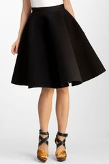 Lanvin Wool Skirt