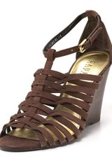 Lauren by Ralph Lauren Wedges Damalise Strappy - Lyst