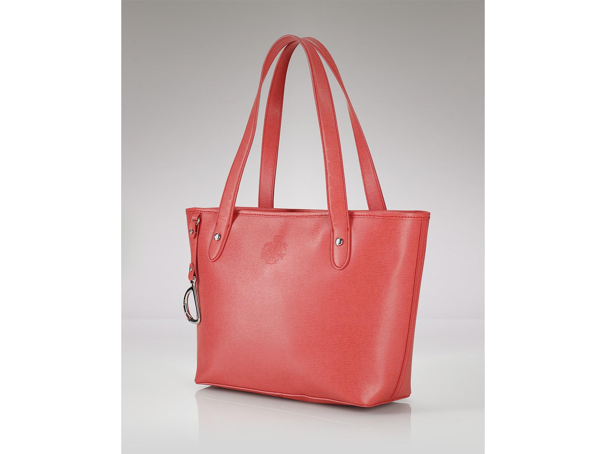 Ralph Lauren Tote Laukku : Lauren by ralph newbury per tote in pink coral