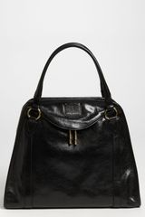 Marc Jacobs Wellington Goatskin Leather Satchel - Lyst