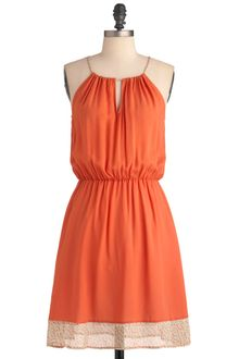 ModCloth Melon Punch Dress - Lyst