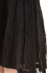 Nightcap Mini Victorian Strapless Dress in Black - Lyst
