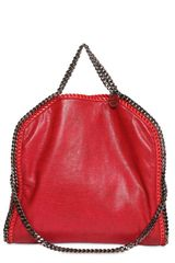 Stella McCartney Three Chain Falabella Galway Bag - Lyst
