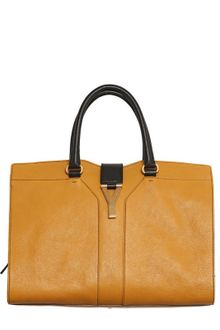 Yves Saint Laurent Medium Cabas Chyc Leather Top Handle - Lyst
