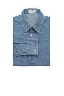 Alexander McQueen Denim Harness Shirt - Lyst