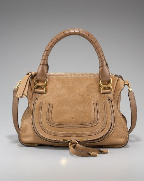 Amazing Deal on Chloé Marcy medium tote - Brown