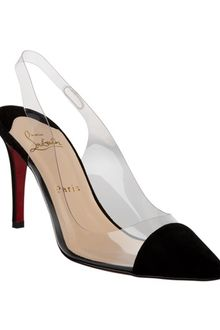Christian Louboutin Sling Back Pumps - Lyst