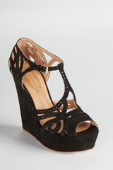 Elie Tahari Wedges Wendy - Lyst