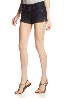 Sold Denim Dark Wash Shorts - Lyst