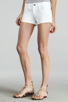 Sold Denim Bleeker Denim Shorts White - Lyst