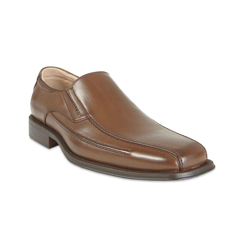 Steve Madden Royal Slip On Dress Shoes in Brown for Men