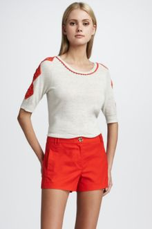Tory Burch Shearer Shorts - Lyst