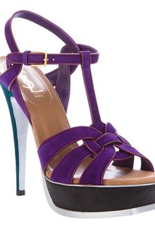 Yves Saint Laurent Tribute Sandals - Lyst