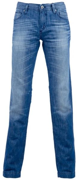 D&g Straight Leg Jeans in Blue for Men - Lyst