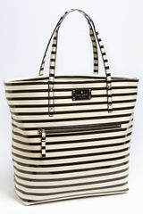 Kate Spade Patent Leather Bon Shopper - Lyst
