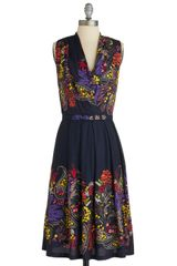 ModCloth Folklore Me in Dress - Lyst