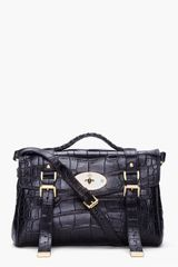 Mulberry Black Alexa Veg Tan Bag - Lyst