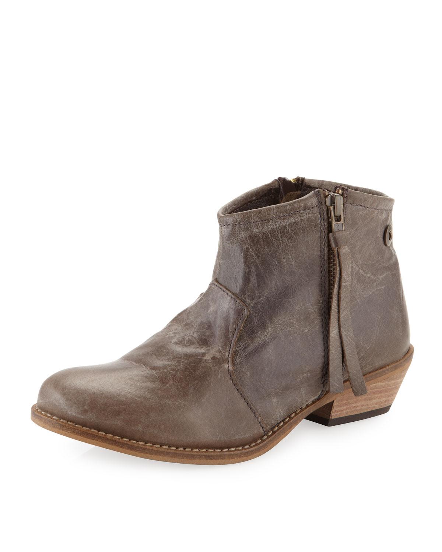 steven by steve madden noah ankle boot in brown