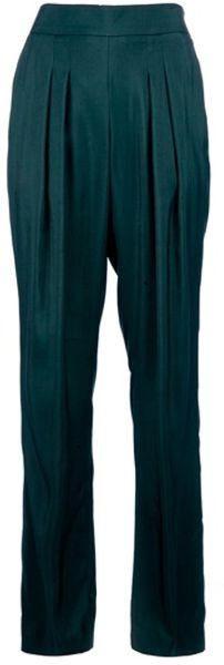 Theyskens' Theory Pleated Trouser - Lyst