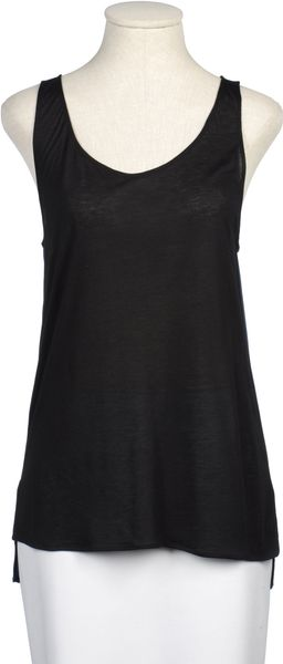 Victoria Beckham Top in Black - Lyst