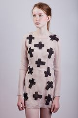 Charlotte Rouge Dress with Crosses - Lyst