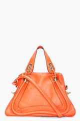 Chloé Orange Medium Paraty Bag - Lyst