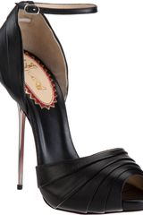 Christian Louboutin Armadillo Bride in Black - Lyst