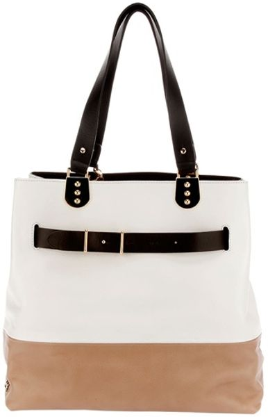 Christian Louboutin Sybil Bag in White - Lyst