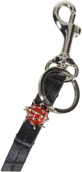 D&g Key Ring in Black - Lyst