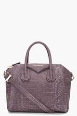 Givenchy Small Charcoal Antigona Bag in Gray (charcoal) - Lyst