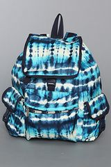 Lesportsac The Voyager Backpack in Tie Dye - Lyst