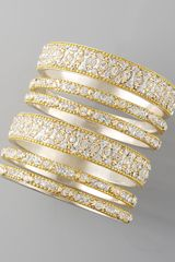 Chamak By Priya Kakkar Sixpiece Bangle Set - Lyst