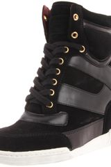 Marc By Marc Jacobs Womens 11 Sneaker in Black (black suede) - Lyst