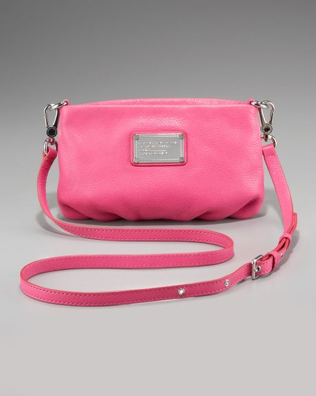 Marc By Marc Jacobs Classic Q Percy Crossbody in Pink (blossom) - Lyst