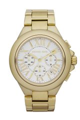 Michael Kors Bella Golden Glitz Watch - Lyst