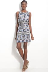 Tibi Layla Ikat Print Dress - Lyst