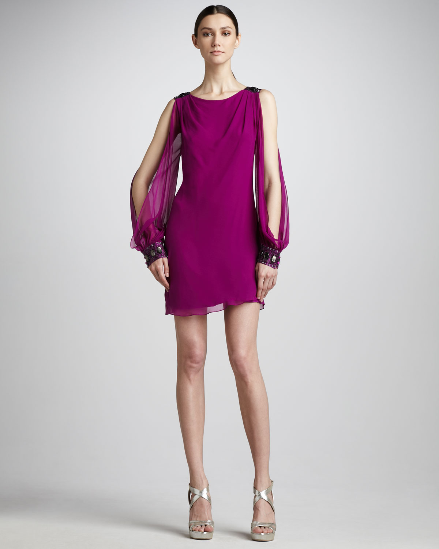 Magnífico Aidan Mattox Cocktail Dresses Viñeta - Ideas de Vestidos ...